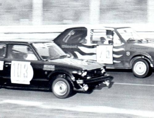 Unser Honda Civic beim 24h Rennen im Einsatz