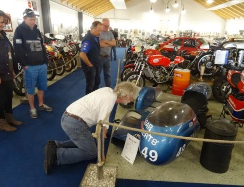 Egbert Streuer zu Besuch im Classic Race Museum