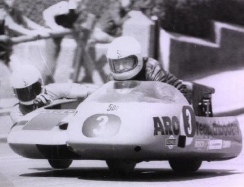 Neues Exponat im Classic Race Museum