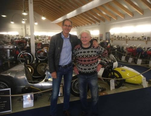 "Eberhard ""Hardy"" Weber zu Besuch bei Classic Race"