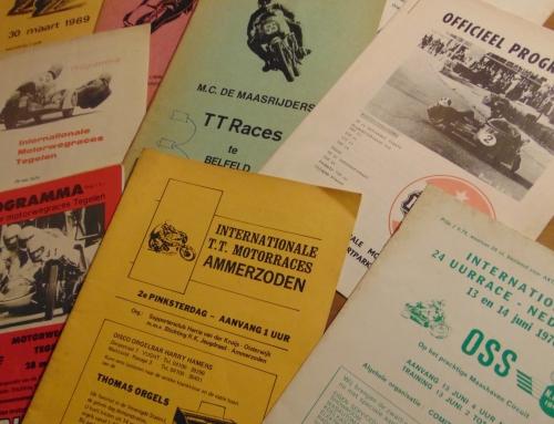 Rennprogramme für unser Archiv