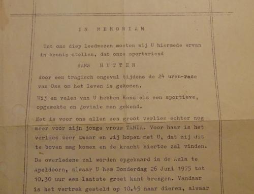 NMB Nachruf auf Hans Hütten
