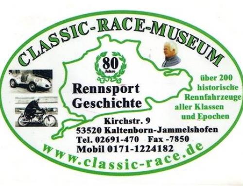 Wiedereröffnung des Classic Race Museums