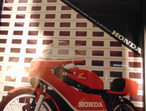 Original Prospekt des Honda MT 125 R Production Racers