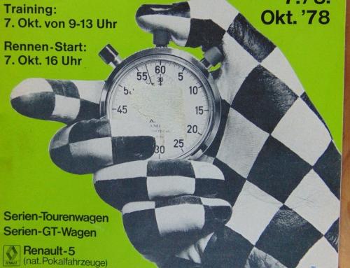 Rennprogramm 24h Rennen 1978….